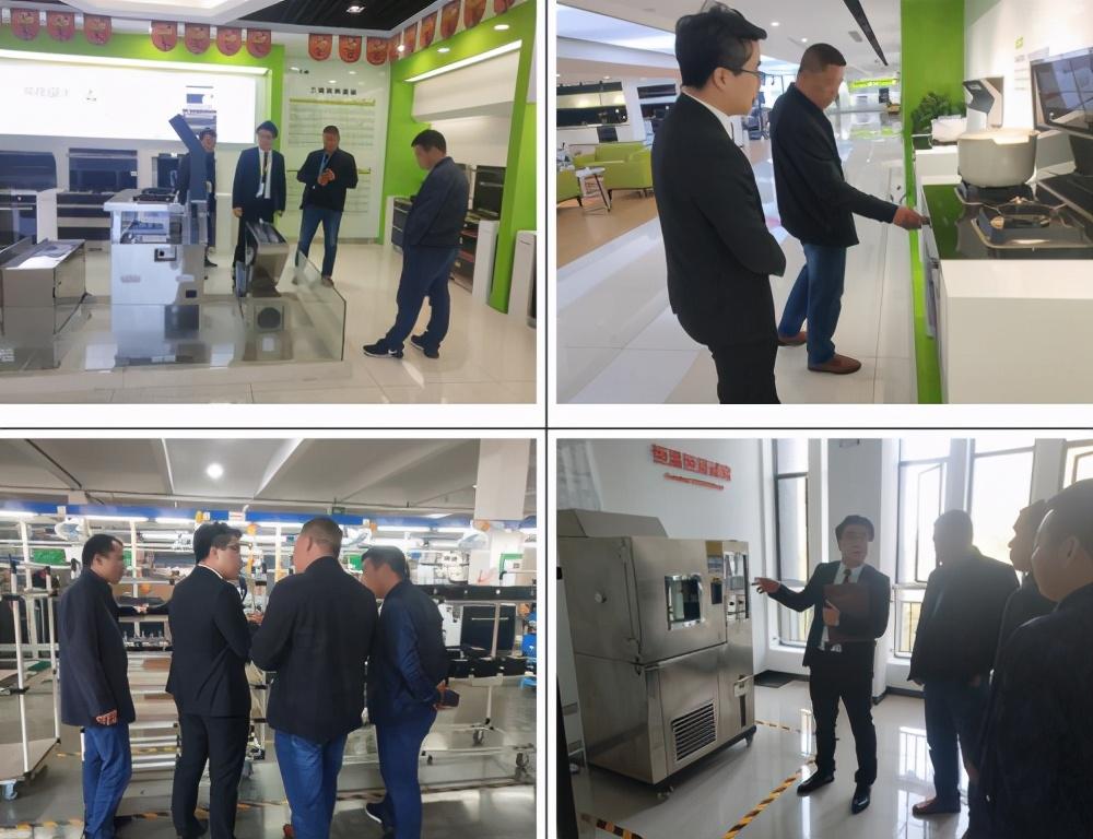第十三届中国(嵊州)电机厨具展览会开幕,上派集成灶实力亮相