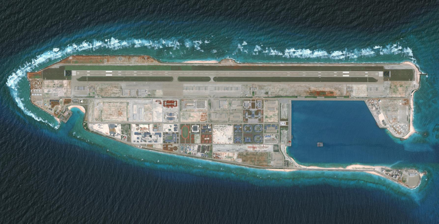 中国新的跳板,黄岩岛填海造陆工程很重要,或是南部海域关键所在