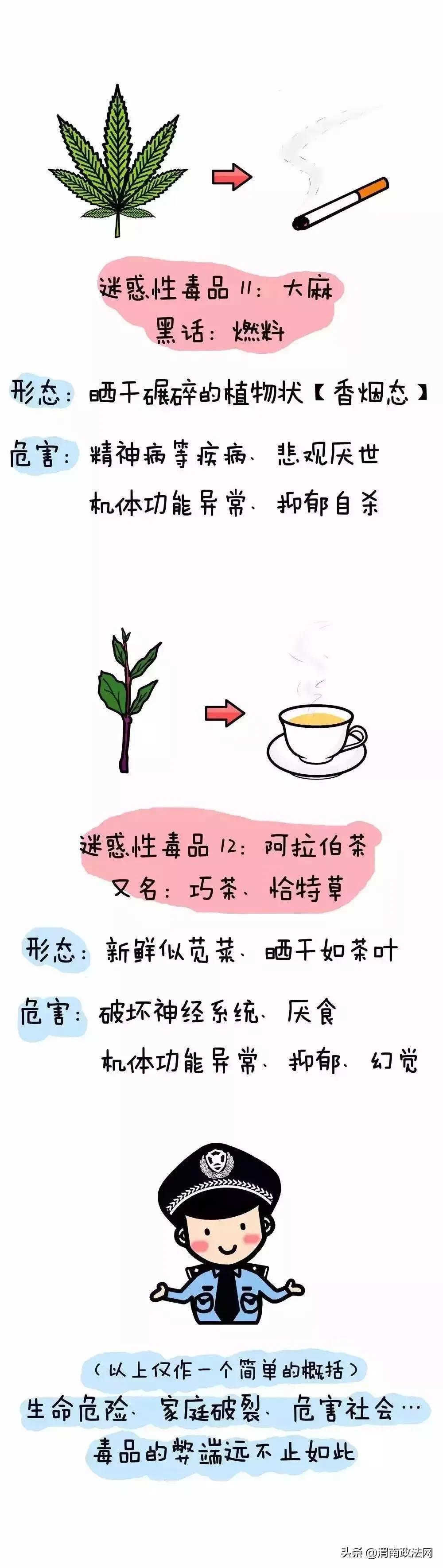 【全民禁毒】禁毒知识小漫画,速来get!