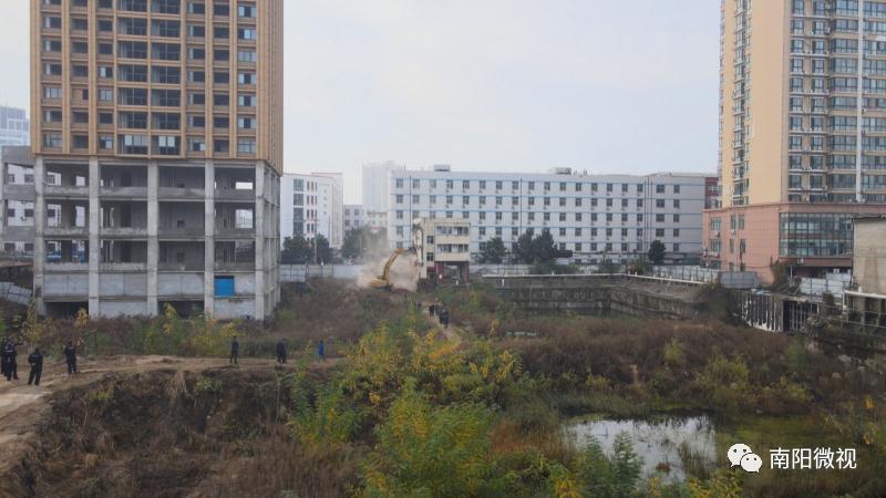"""南阳市城乡一体化示范区:硬起手腕拿下项目建设""""拦路虎"""""""