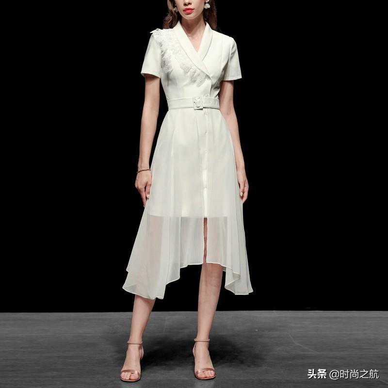 18套适合商务谈判的连衣裙,彰显底气,端庄得体显优雅