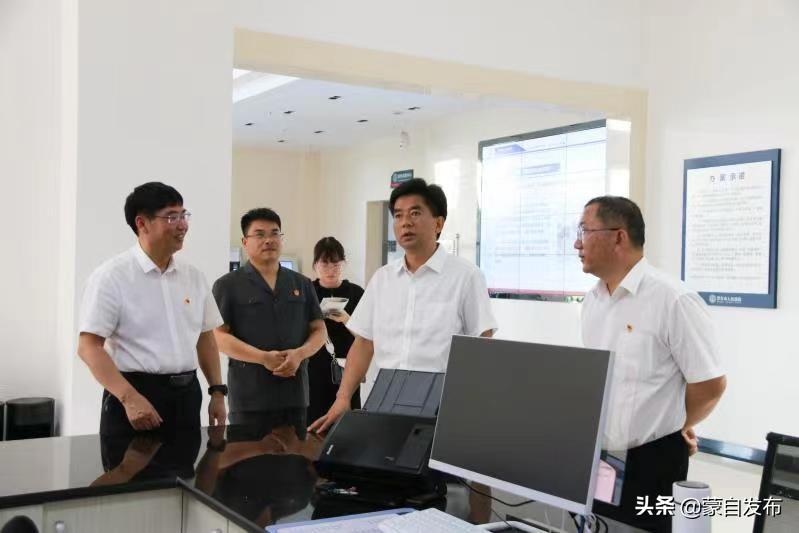 庞俊专题调研政法队伍教育整顿工作
