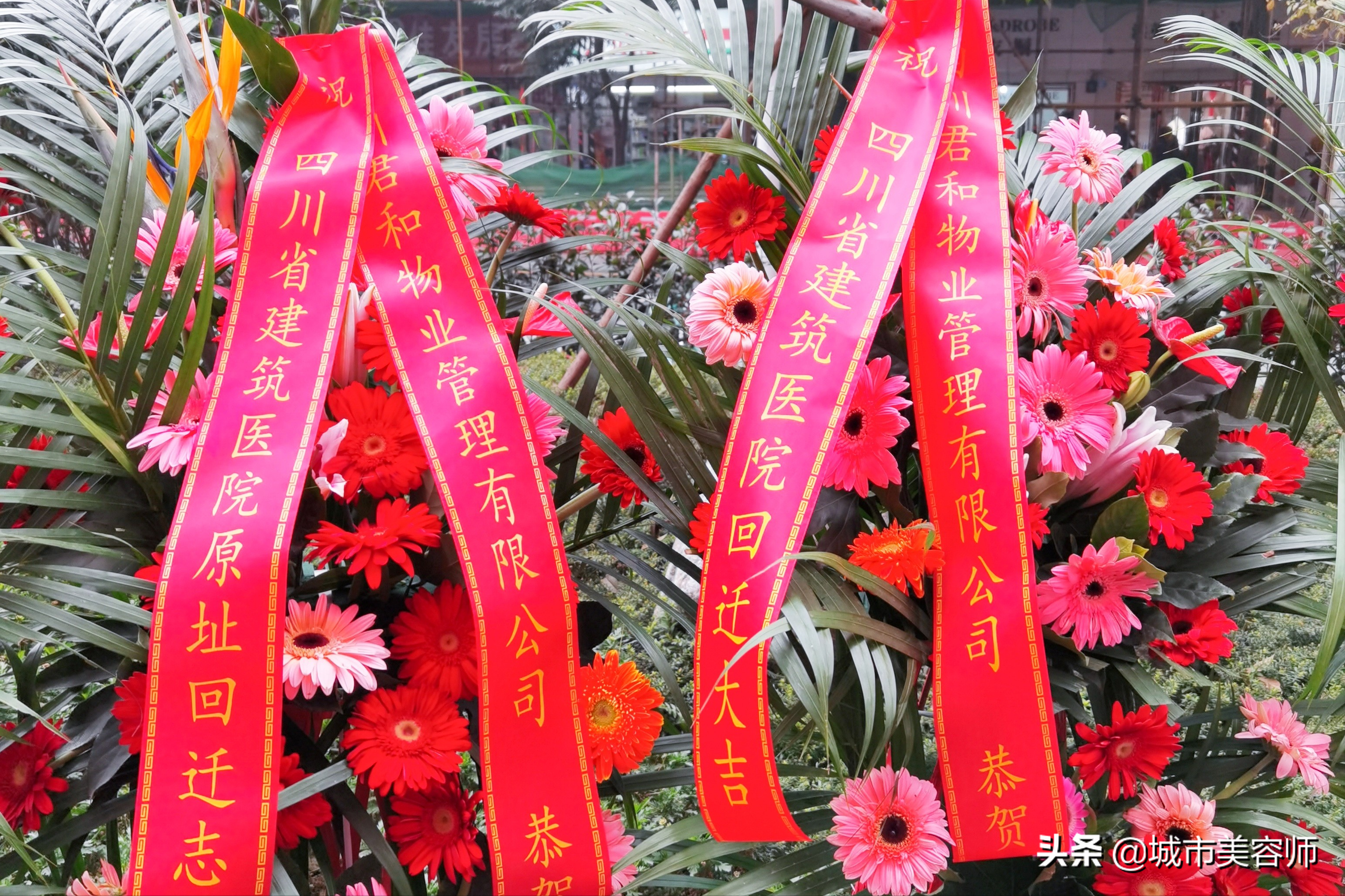 新起点,新征程,四川君和物业恭祝四川省建筑医院原址回迁大吉