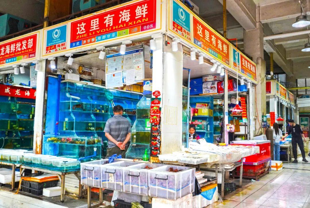 深扒西安最大海鲜市场,教你买最便宜、最生猛的海鲜!