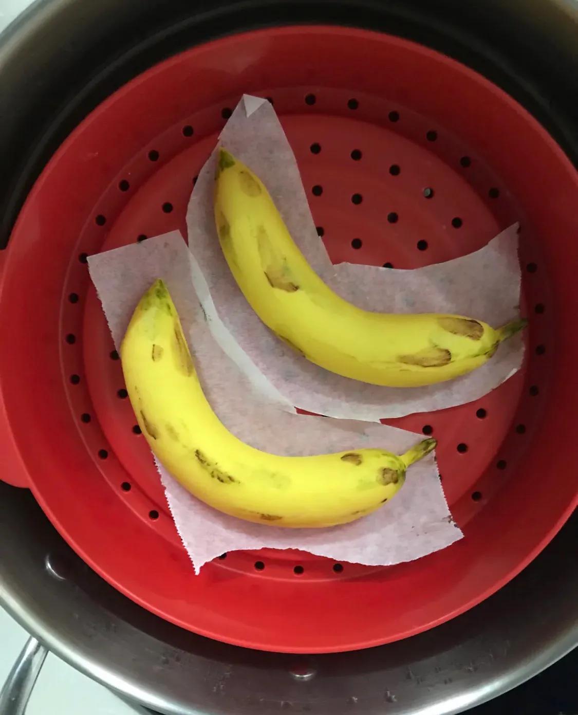 以假乱真的香蕉馒头 美食做法 第8张