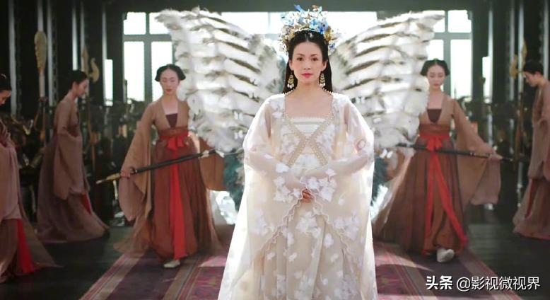章子怡《上阳赋》少女造型被批太老,首部电视剧雷点多,不被看好