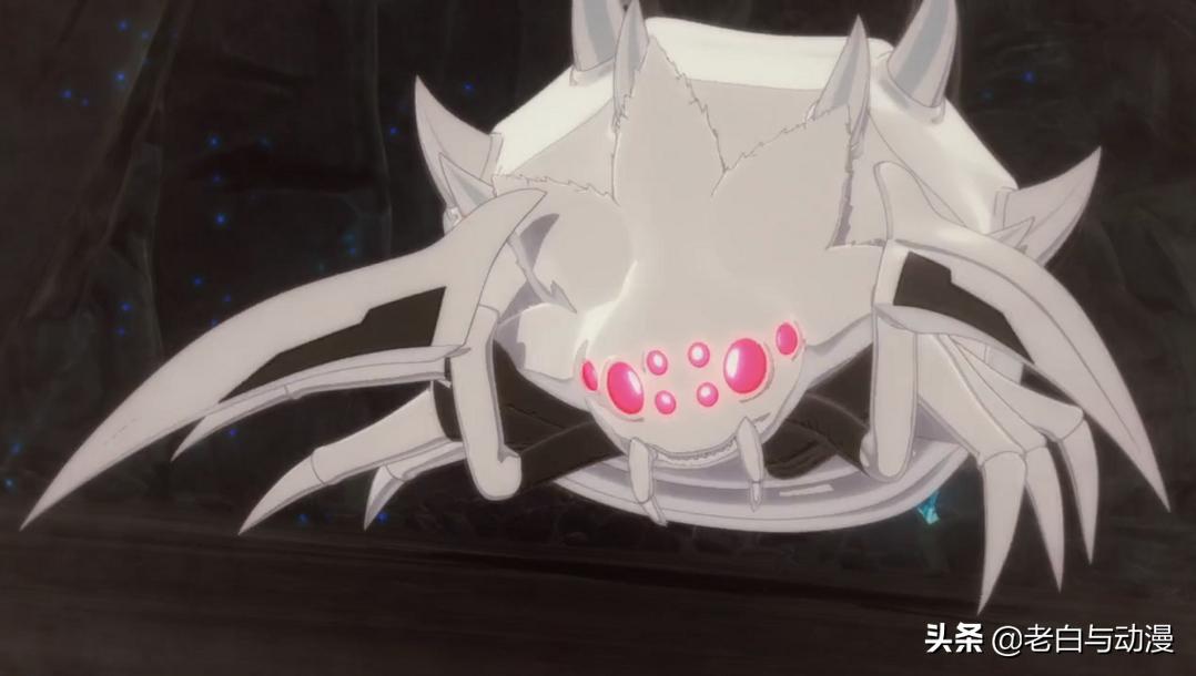 人類視角的蜘蛛子,素顏越來越美了