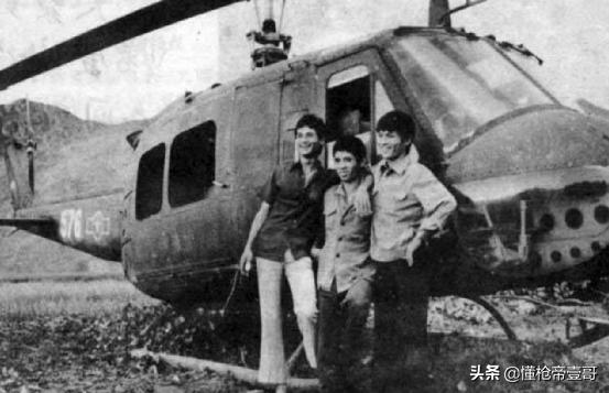 越军飞行员叛逃中国:带来美式直升机和10个亲朋好友