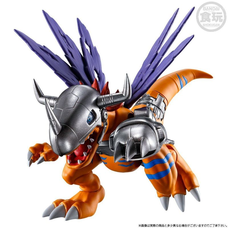 机械暴龙兽&兽人加鲁鲁来了,数码宝贝食玩新品公开