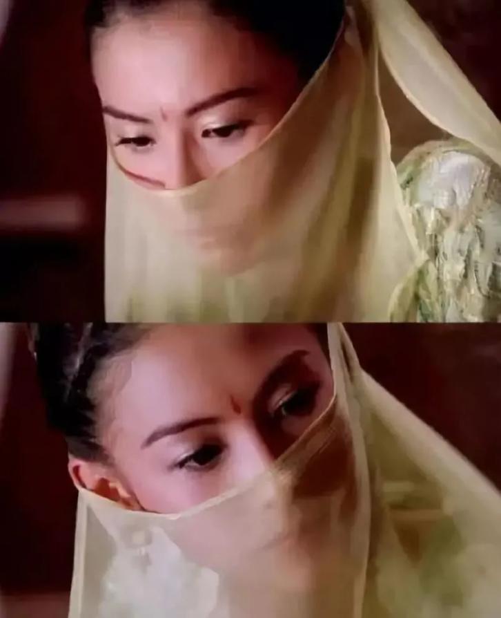 带着面纱女星:张柏芝漂亮,唐嫣优雅,看到迪丽热巴:眼睛都看呆