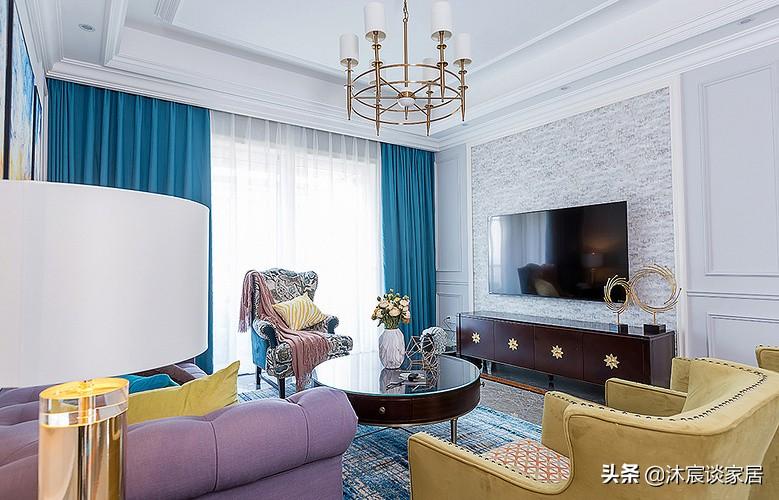 她的新家,轻奢与美式混搭华丽精致,高贵大气,三代人生活很舒适