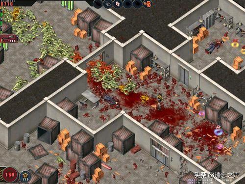 90后必玩游戏《孤胆枪手》,游戏中搜索物资像极了吃鸡