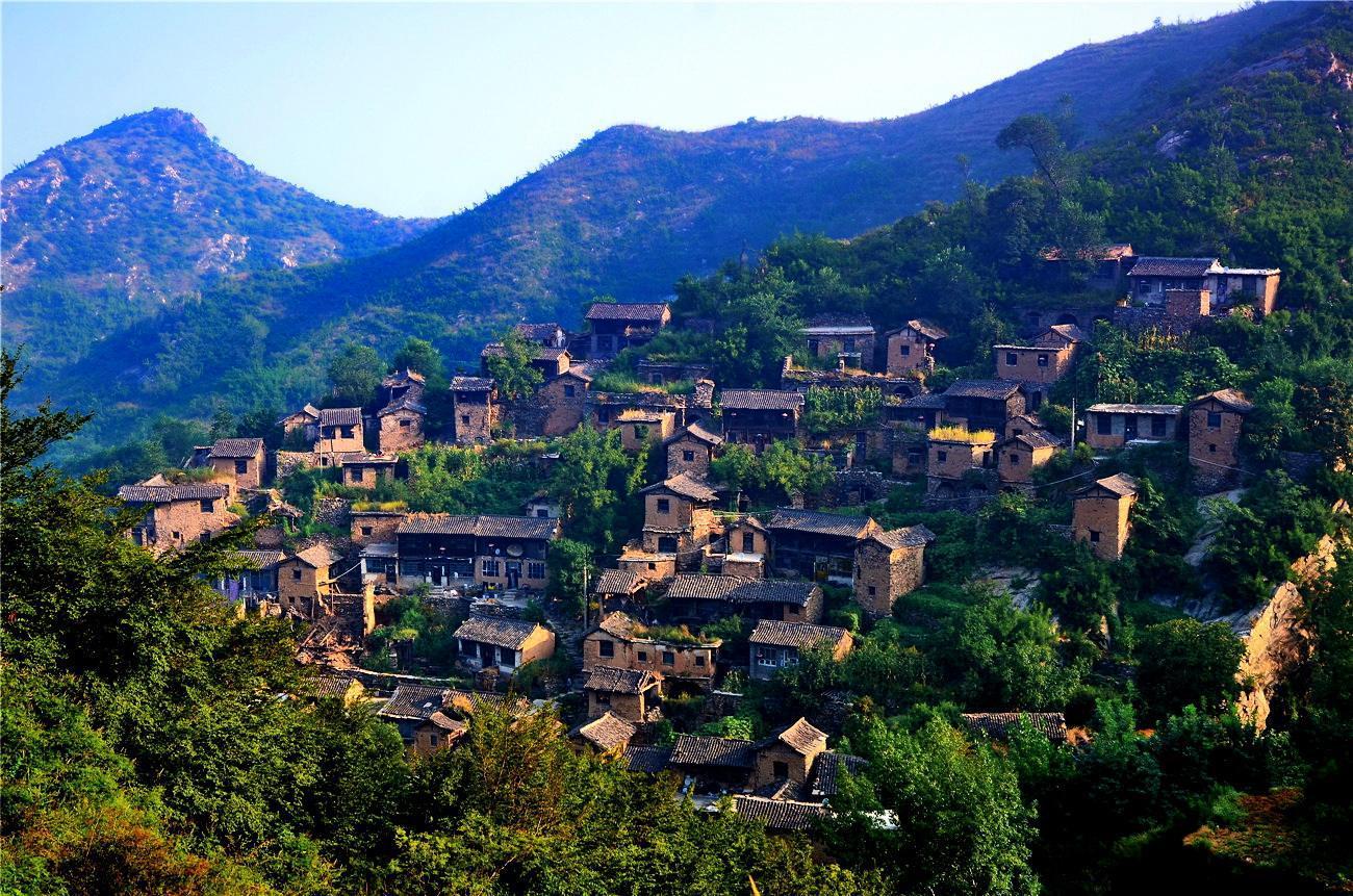 """山西省的""""小布达拉宫""""——大汖村"""