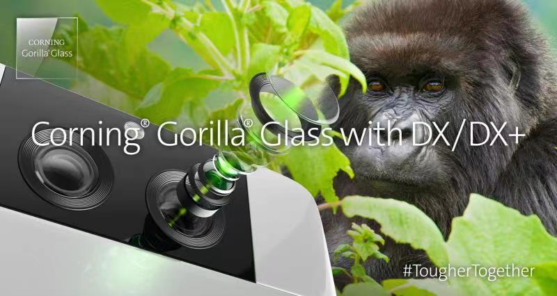 康宁扩展康宁®大猩猩®玻璃复合材料产品优化移动设备摄像头的性能