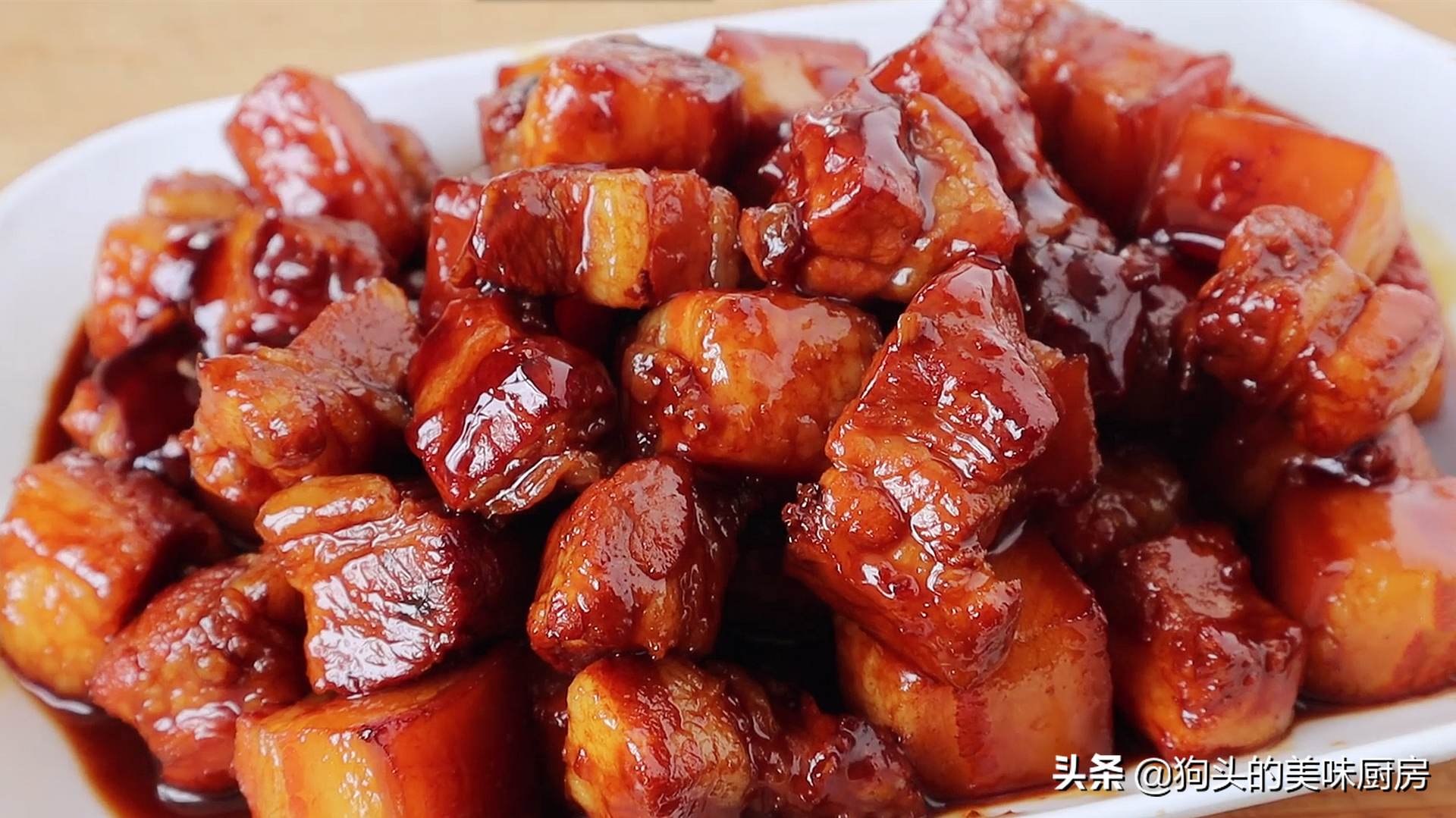 做红烧肉时,掌握这些小技巧,红烧肉不腥不柴,软烂入味口感好 美食做法 第1张