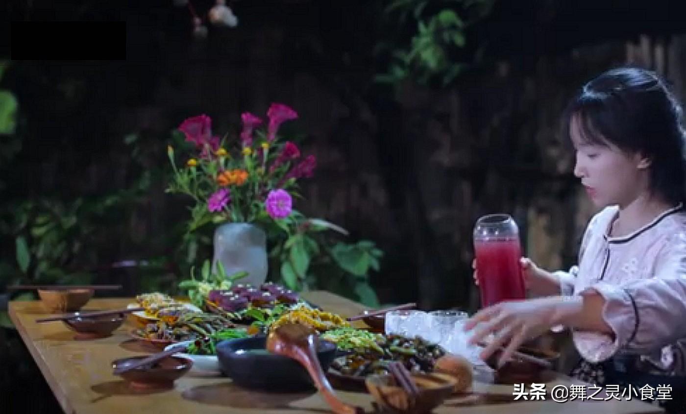 李子柒晒谷物满仓的美食,网友:馋哭了,向往的生活