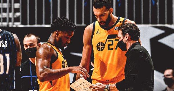 NBA直播:太阳vs爵士,西部榜首之争,戈贝尔继续只手遮天?