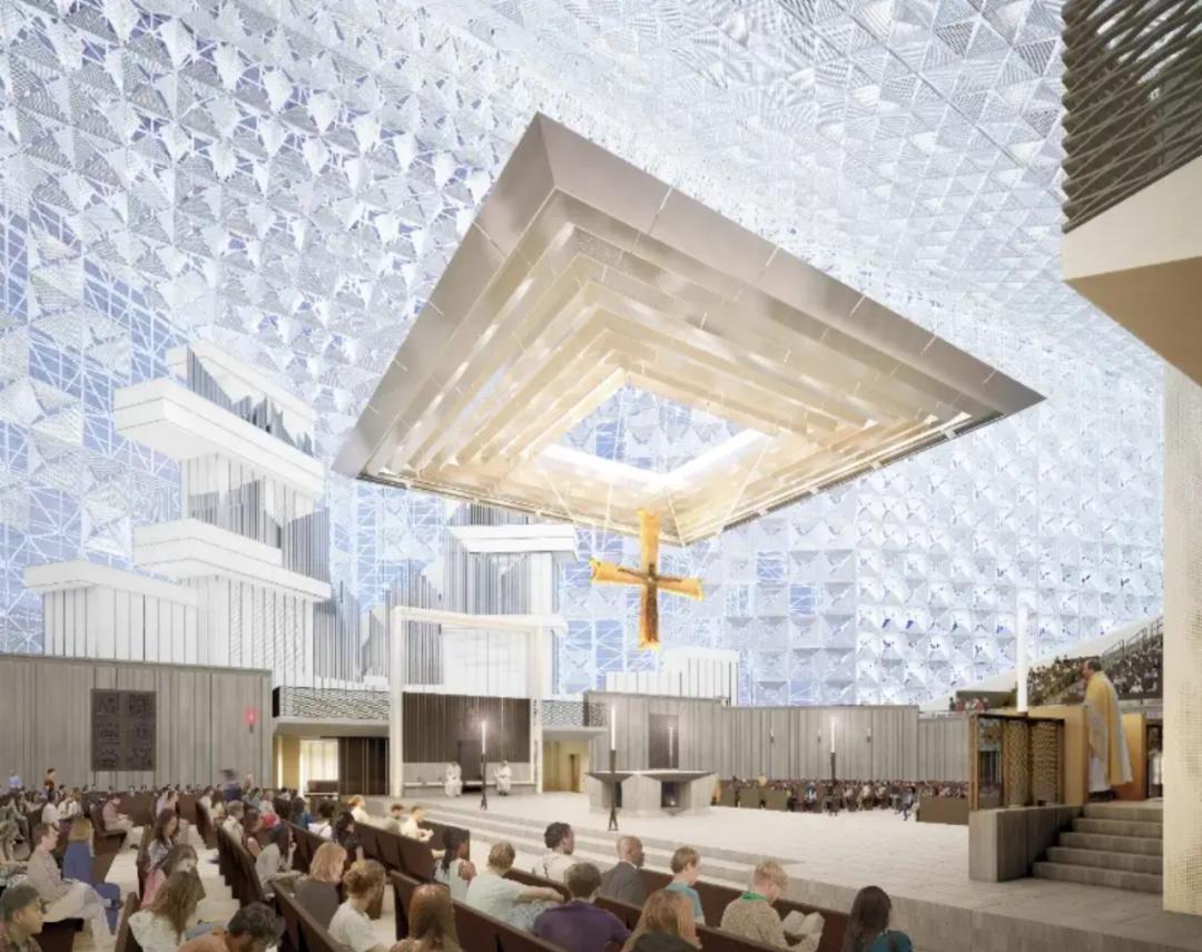 灵魂的洗礼——现代教堂设计