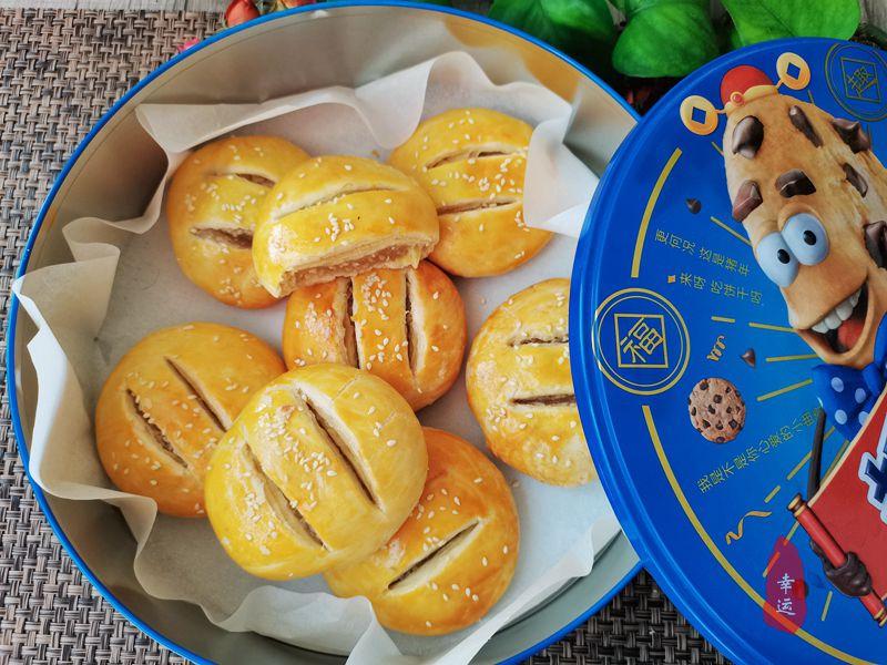 女神節的甜品製作完成,心情暢快如花,外酥內糯層次豐富