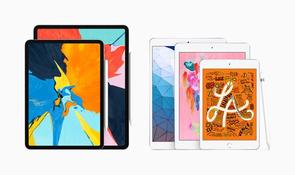 Apple发布新一代10.5吋iPad Air、7.9吋iPad mini 最少2680元