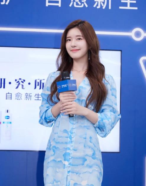 21岁赵露思39岁林雨申演总裁剧,吻戏不断,网友:能演父女了