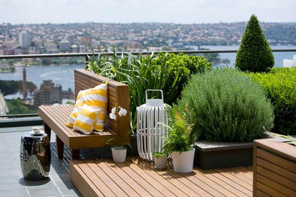 """15个屋顶""""露台造园""""设计,教你5个方式,打造你的空中花园"""