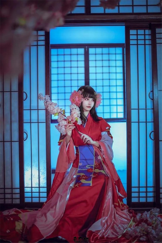 沐钦丨阴阳师樱花妖·桜と一緒に踊る