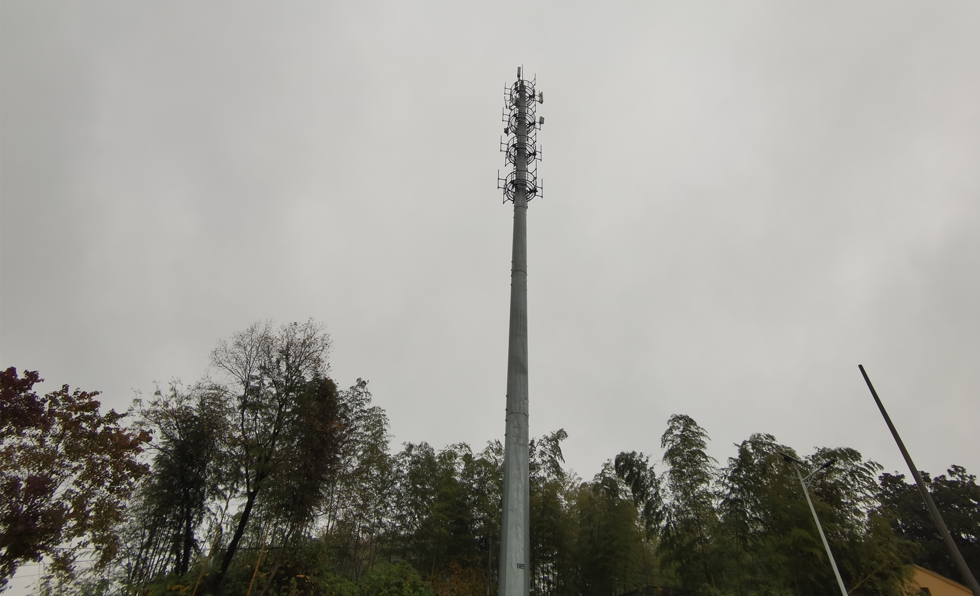 南京高淳区固城街道建成铁塔高空瞭望监控,实现火情智能化预警