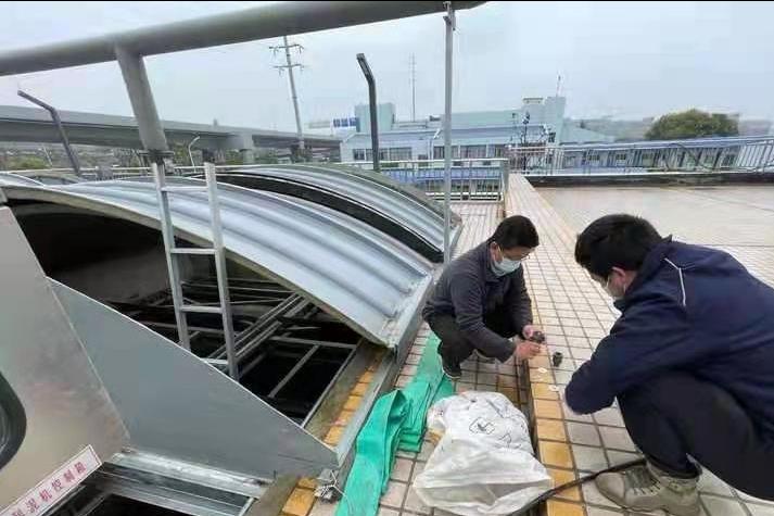 让绿色发展底气更足 武汉市汤逊湖污水处理厂提档升级