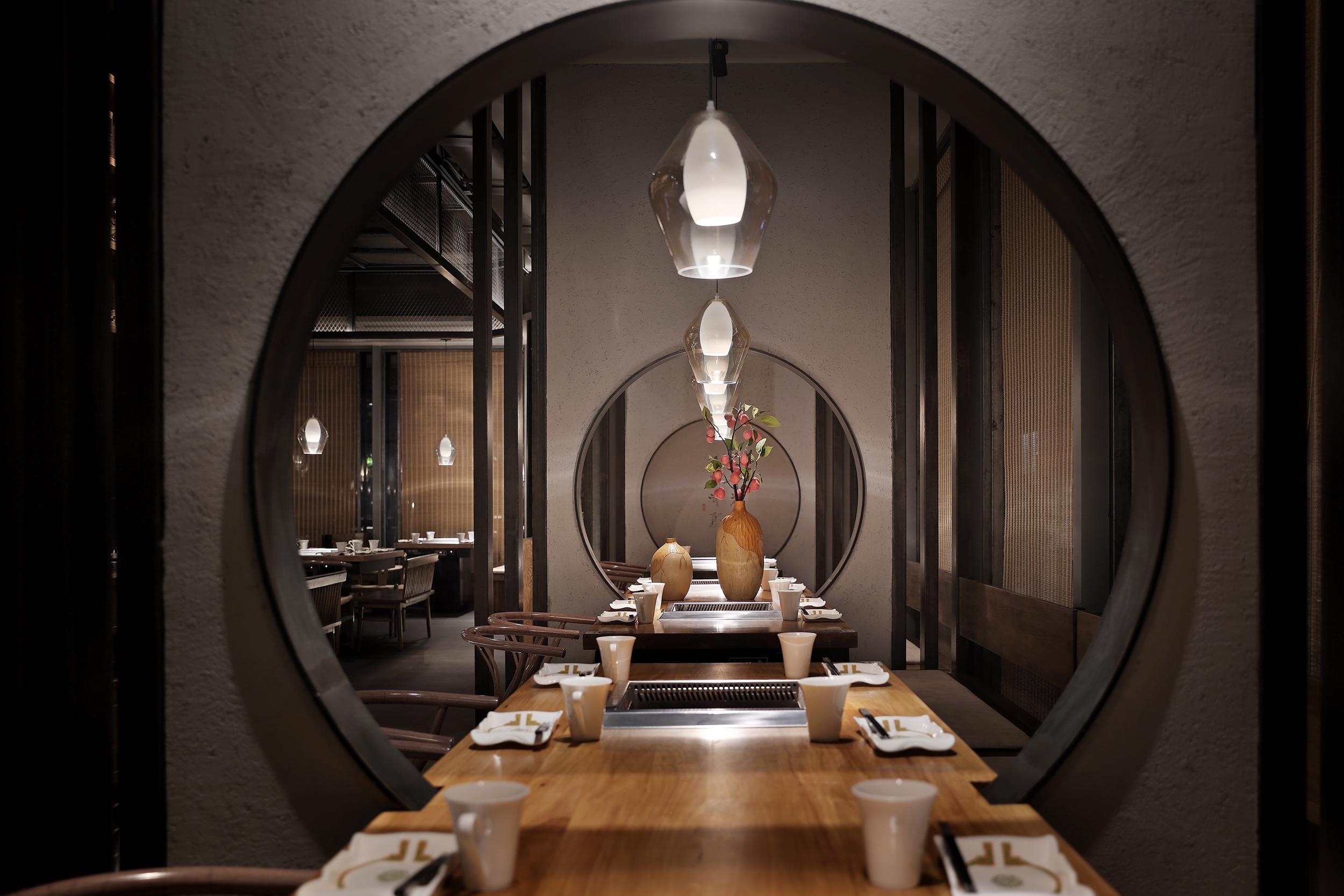 餐厅设计·火锅空间设计:大妙火锅,妙不可言的中式意境空间