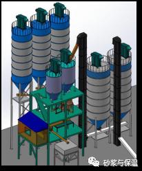 了解***发改委推广的智能化连续式干粉砂浆生产线