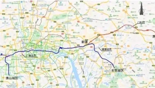 重磅!又一条地铁即将开建,直通广州深圳!就在东莞这里