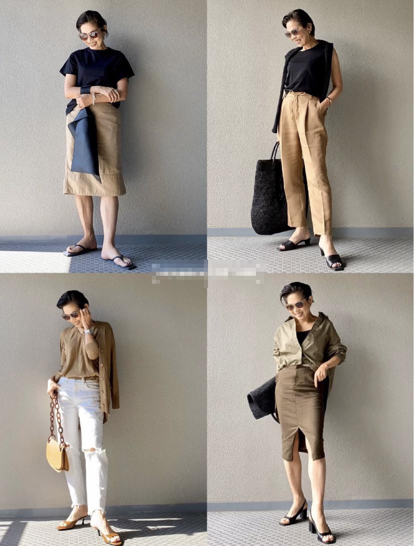 """日本""""奶奶辈""""时尚博主穿搭!能看得出来她63岁?气质不输年轻人"""
