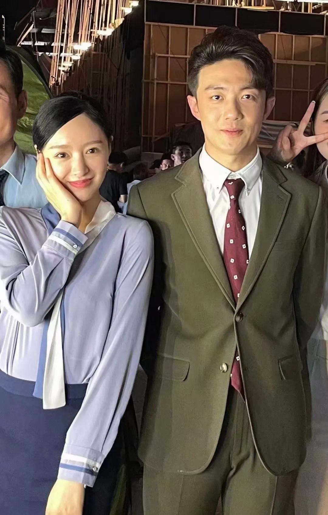 演員進修班楊慧欣跟楊冪合作大劇《愛的二八定律》殺青啦