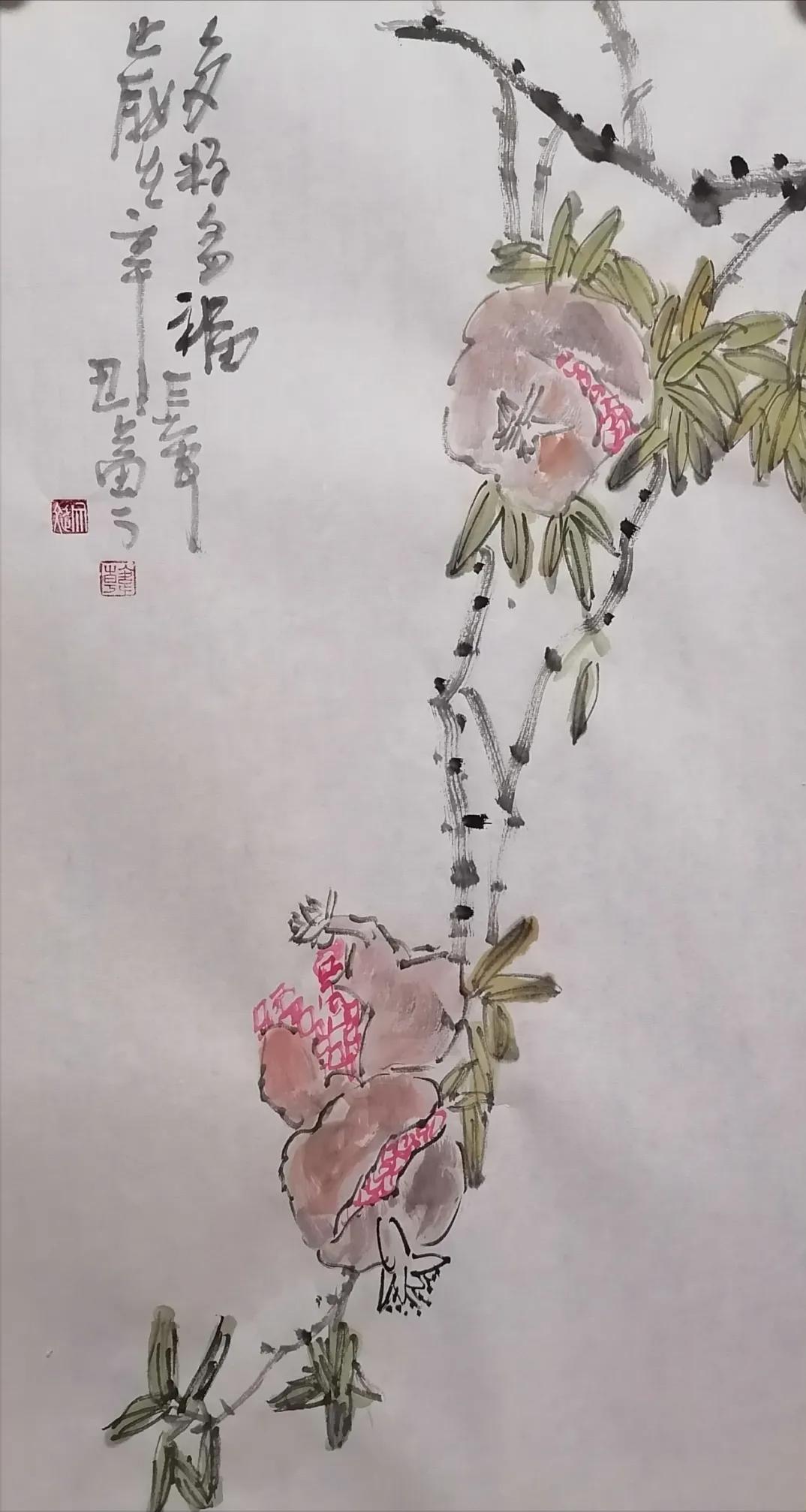 陕西周至:著名书画家韩文斌作品欣赏