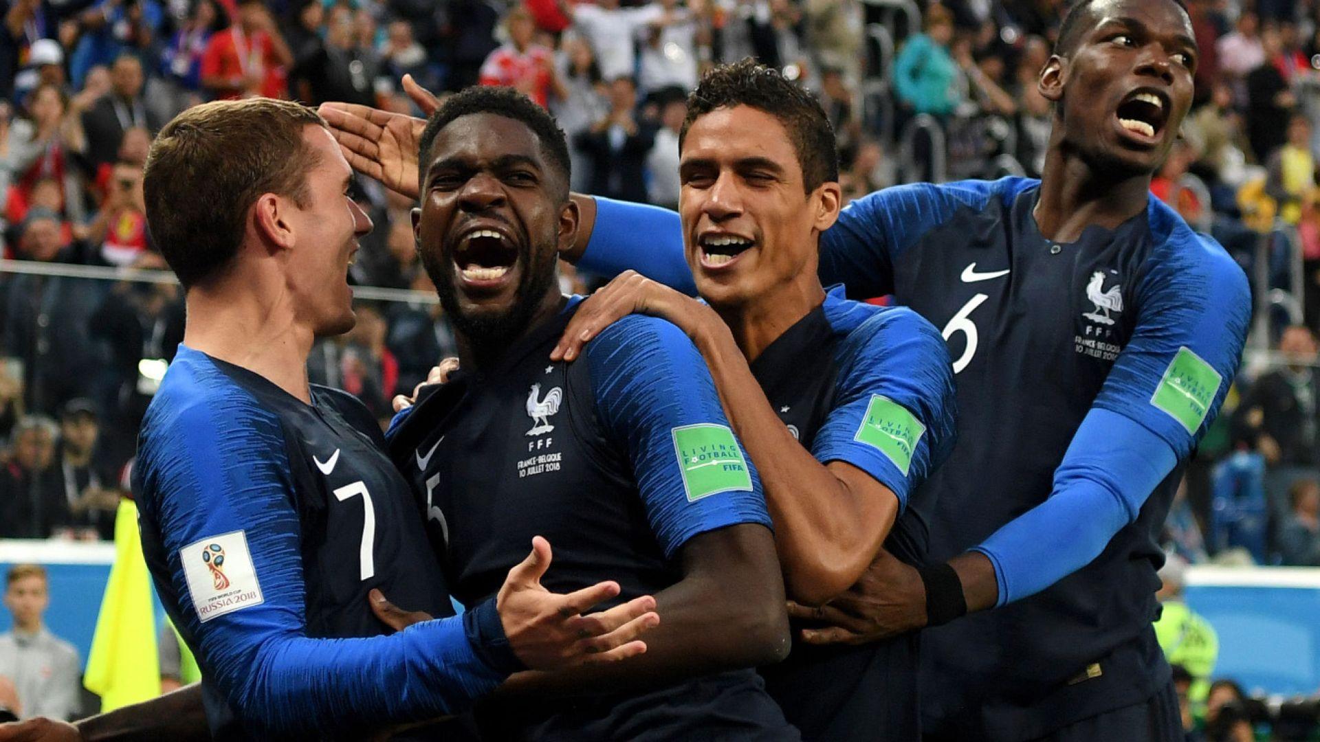 """法国vs克罗地亚:决赛之战打响 克罗地亚有复仇心但""""无力"""""""