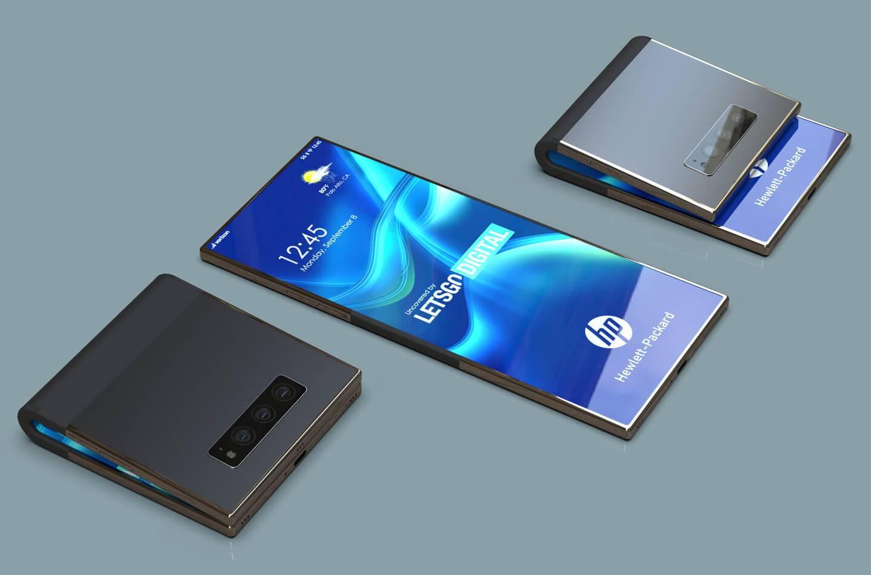 惠普折叠屏技术专利曝光,不止用于手机