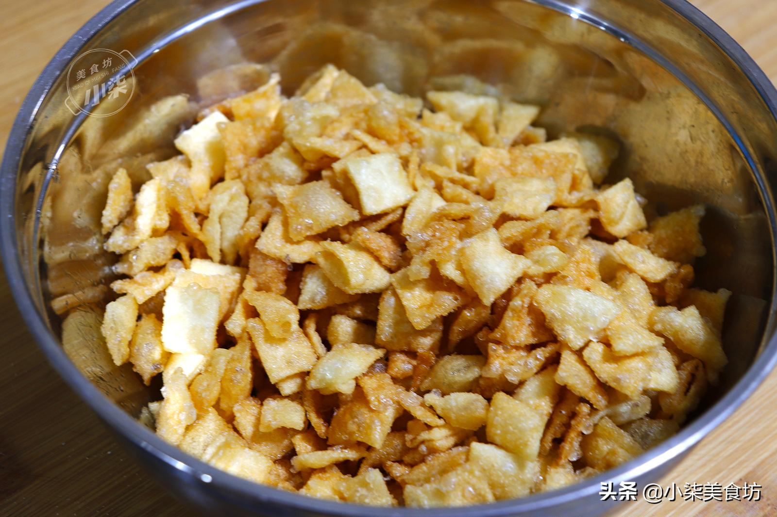 餃子皮扔進油鍋中,瞬間變美食,我家一周吃5次,比買的都解饞