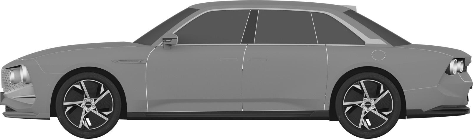 外观仅供参考,WEY全新轿车概念版专利图曝光