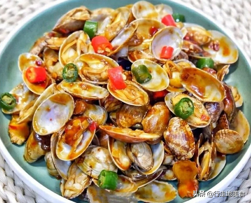 家常海鲜制作方法,鲜辣美味 美食做法 第1张