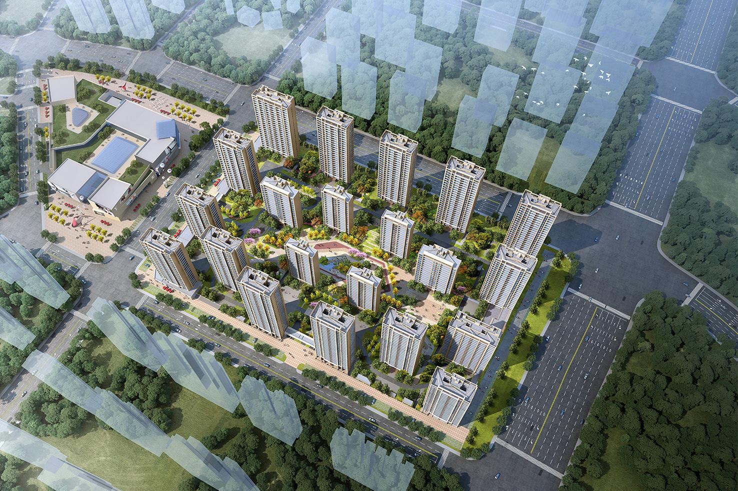 40.59亿拿地,21栋高层、邻里中心…碧桂园义乌江东项目规划公示