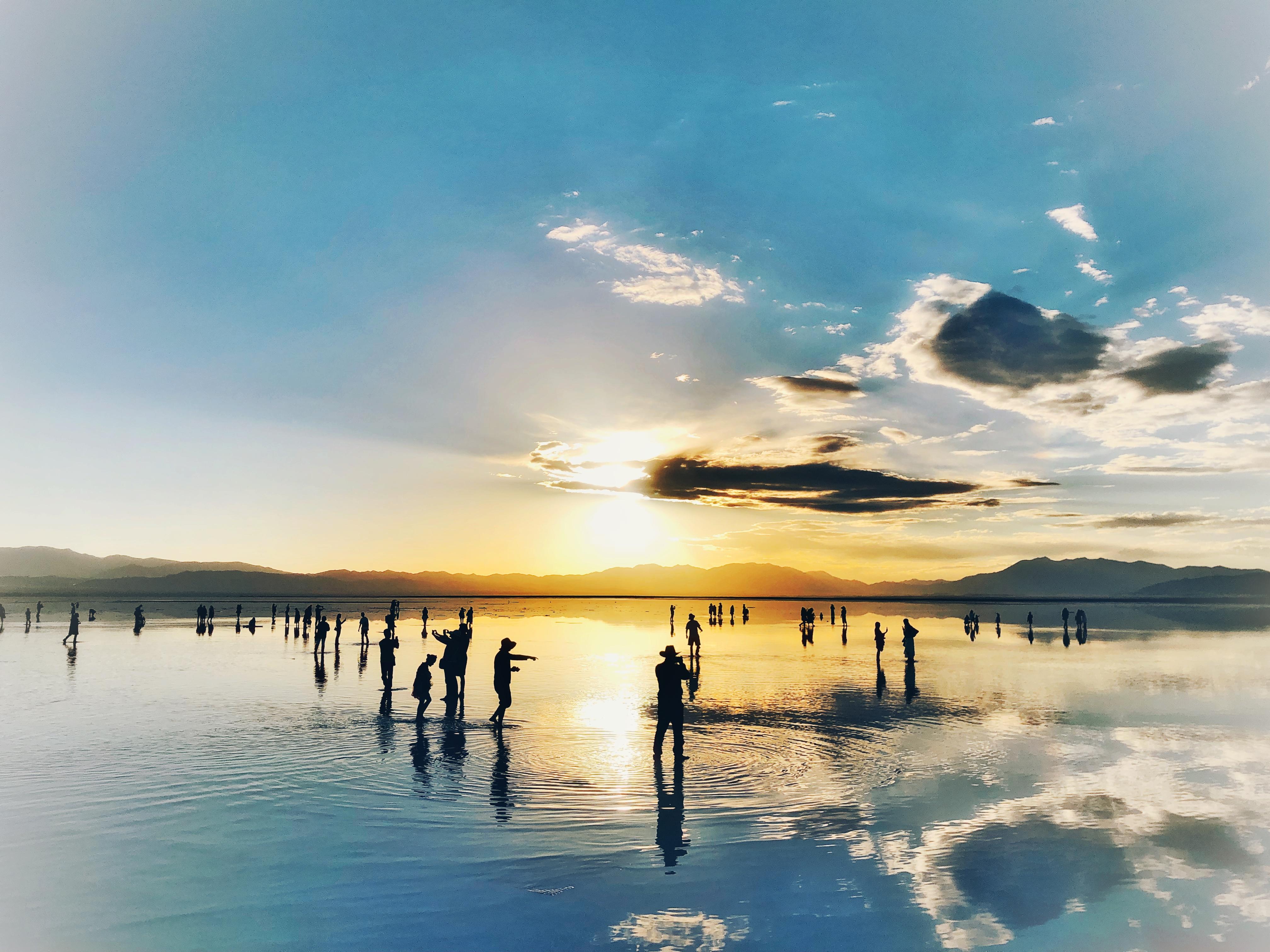 茶卡盐湖——-来自青海的梦幻之镜