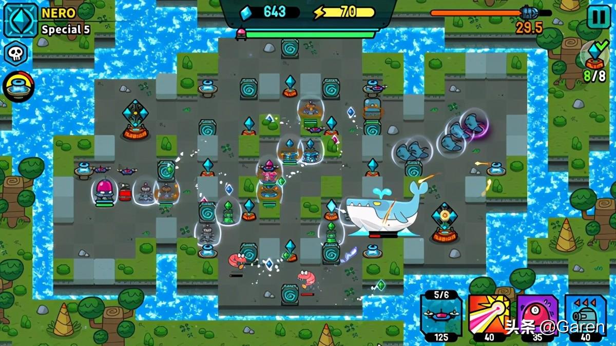 破碎的宇宙:神器传说,一款硬核外星塔防游戏