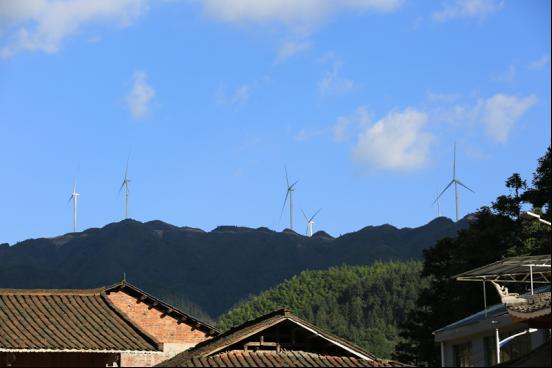 贵州省剑河县:风力发电输送绿色能源