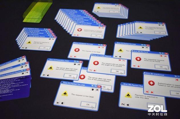 WinXP IE错误弹窗做成扑克