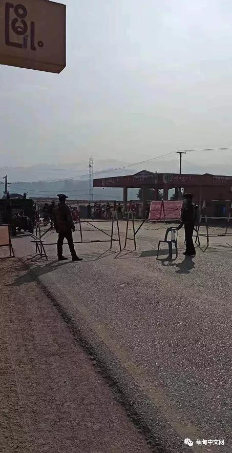 缅甸腊戌、木姐、贵慨等地主要道路被军方设卡,禁止人员出入