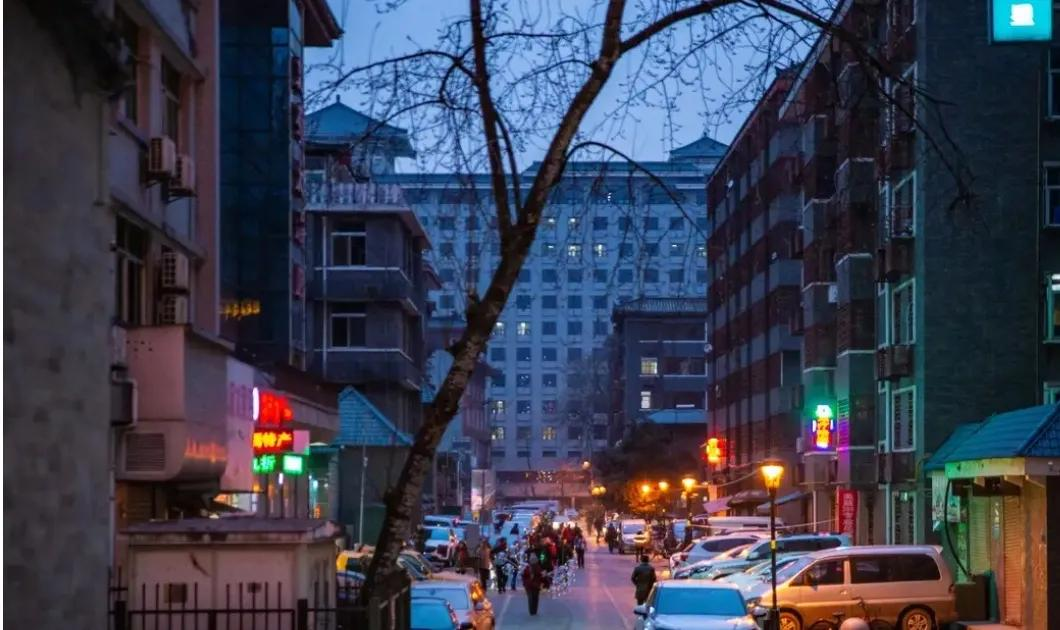 西安城里的街道——社会路