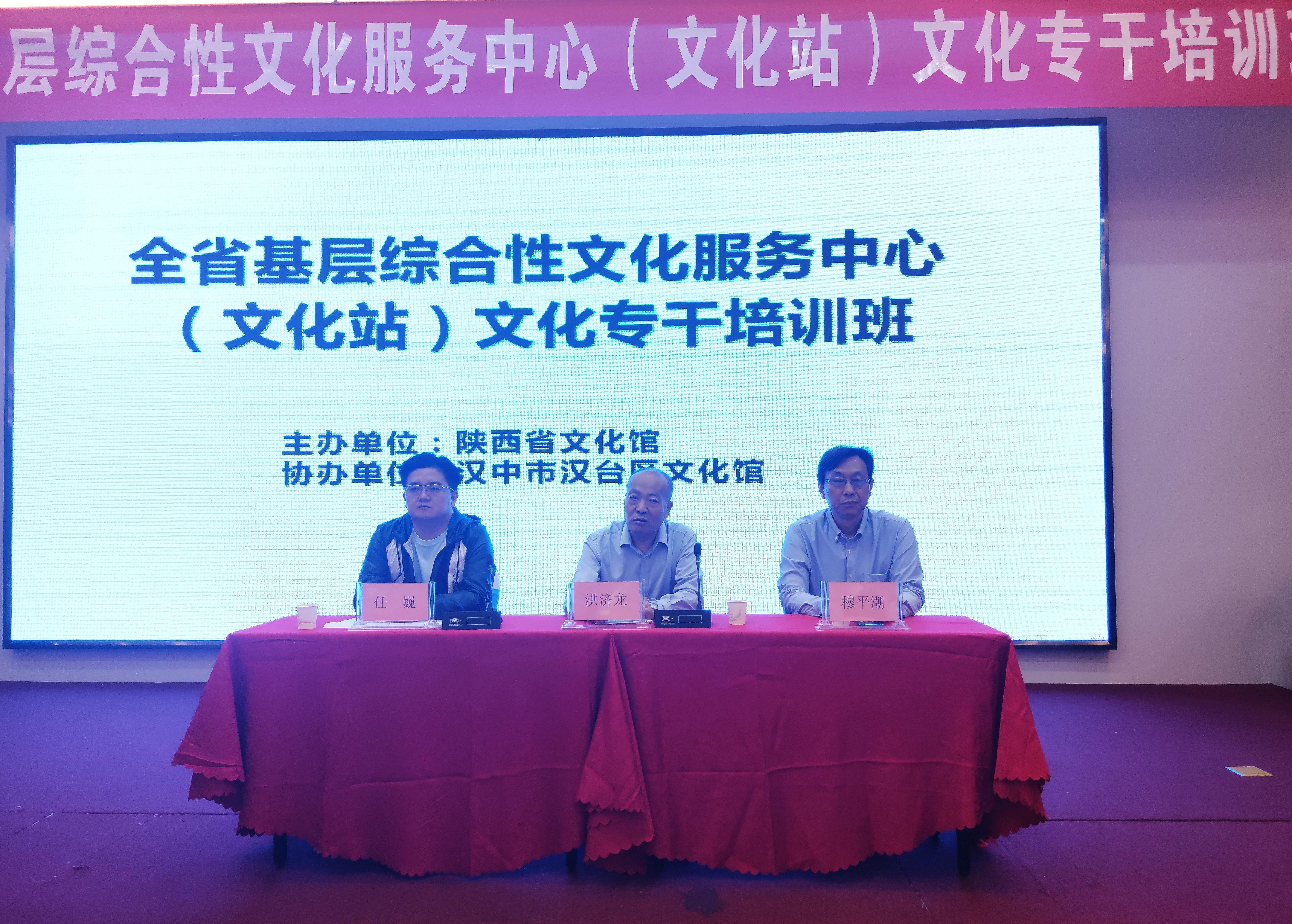 陕西举办基层综合性文化服务中心文化专干培训班