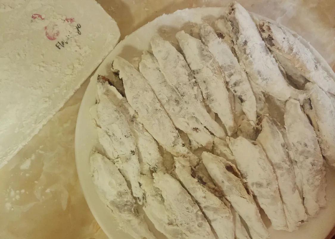 超简单的油炸小黄鱼 美食做法 第6张