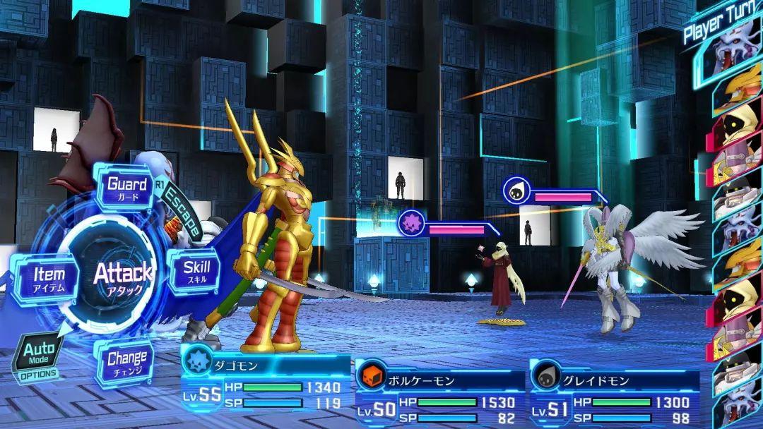 """一款以""""数码宝贝""""为题材的怪物收集养成RPG游戏"""